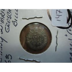 1763 GERMANY 2 MARIEN-GROSCHEN BILLON