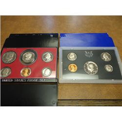 1972 & 79 US PROOF SETS (WITH BOXES)