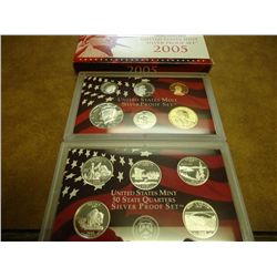 2005 US SILVER PROOF SET (WITH BOX)