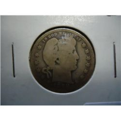 1898-O BARBER QUARTER (BETTER DATE)