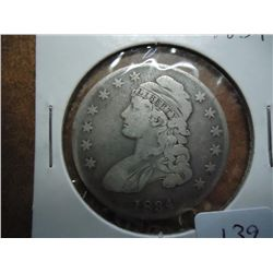 1834 BUST HALF DOLLAR (VERY FINE)