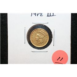 1874 Indian Princess $1 Gold Coin, Type III
