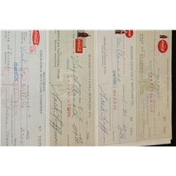 American National Bank Rogers AR Cancelled Check Dated 1963