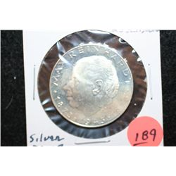 1973 Austria 25 Shilling Foreign Coin, Silver Proof
