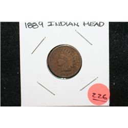 1889 Indian Head Penny