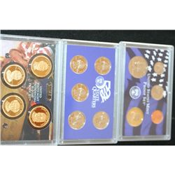 2008-S US Mint Proof Set W/US State Quarter Proof Set & US Mint Presidential $1 Proof Set
