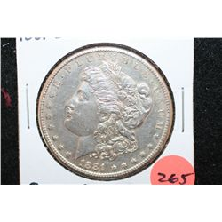 1881-S Silver Morgan $1, P.L. Surfaces