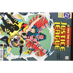 1993 DC Comics; Is This The New Justice League America? Edition
