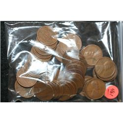 Wheat Back Penny, Various Dates & Conditions, Lot of 50