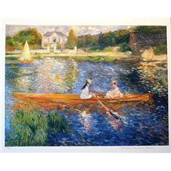 Limited Edition Renoir- The Skiff - Collection Domaine Renoir