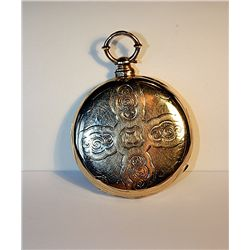 Gents 18K MJ Tobias Pocket Watch