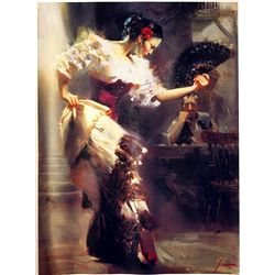 Pino  on Canvas - The Dancer- Limited Edition