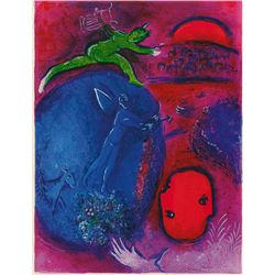Lamon and Drya's Dream- Chagall - Limited Edition on Canvas