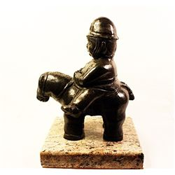 Botero   Original limited Edition Bronze Sculpture -Gendarme
