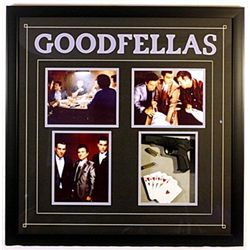 Four  movie stills from GoodFellas