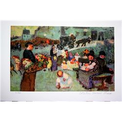 Picasso Limited Edition - The Flower Seller - from Collection Domaine Picasso