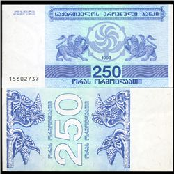 1993 Georgia 250 Laris Note Crisp Unc (CUR-06454)