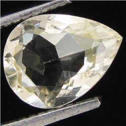 1.30ct Clear Champagne Oregon Sunstone Pear (GEM-31004)