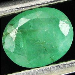 0.61ct Green Colombia Emerald Oval  (GEM-44204G)