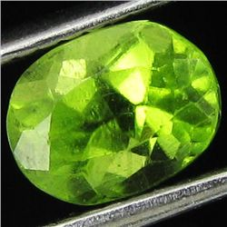 1.35ct Fire Green Peridot Oval (GEM-44049)