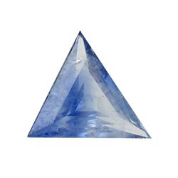 0.31ct Natural Blue Ceylon Sapphire Triangle (GEM-24441A)