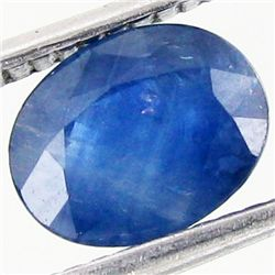 1.37ct Blue Chantiburi Sapphire Clean Heat Only (GEM-42106)