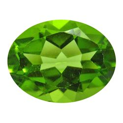 2.62 ct Natural Lustrous Oval Green Peridot (GMR-1054)