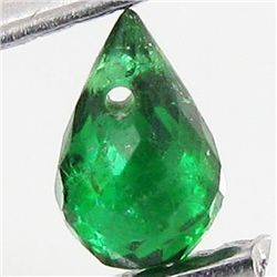 0.2ct Green Tourmaline Briolette (GMR-1110B)