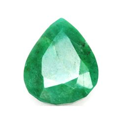African Emerald Loose Gems 68.84ctw Semi Heart Cut