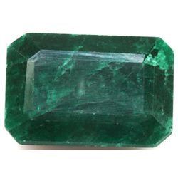 African Emerald Loose Gems 155.76ctw Emerald Cut