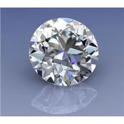 EGL Certified 0.55 ct ROUND BRILLIANT E, VS2
