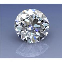 EGL Certified 0.98ct Round Brilliant I, VS2
