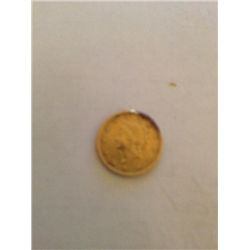 1853 $1 GOLD LIBERTY HEAD