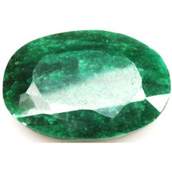 African Emerald Loose Gems 145.99ctw Oval Cut