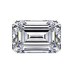Diamond EGL Cert. ID:3127251930 Emerald 0.75 ctw D, Vs2
