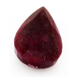 Natural 116.09 ctw Ruby Pear Shape Stone
