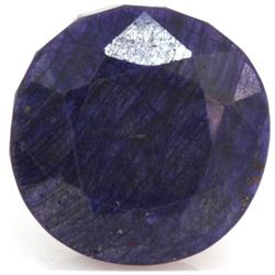 Natural 201.76 ctw African Sapphire Round Stone