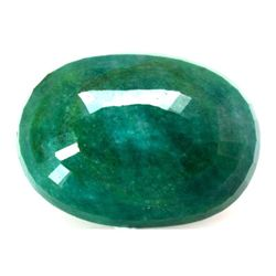 Natural 140.5ctw Emerald Oval Stone