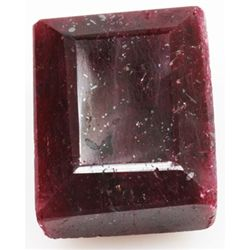 Natural 113.51ctw Ruby Emerald Cut Stone