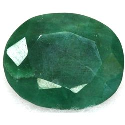 African Emerald Loose Gems 87.42ctw Oval Cut