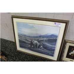 COLLECTION OF 3 FRAMED PRINTS - VITO RUGGERI
