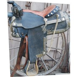 1940's spotted saddle