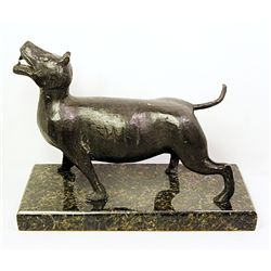 Rufino Tamayo  Original, limited Edition  Bronze - DOG
