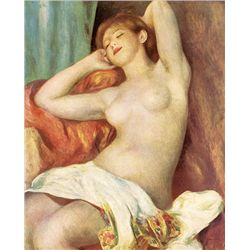 Nude Study - Renoir - Limited Edition on Canvas