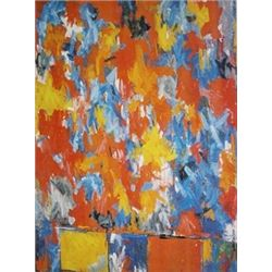 Highway by Jasper Johns  Lithograph