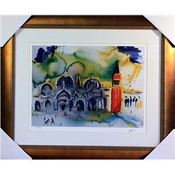 Salvador Dali Signed Limited Edition -VENICE