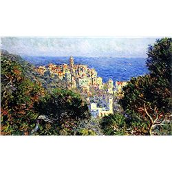 The View of Bordighera by Monet
