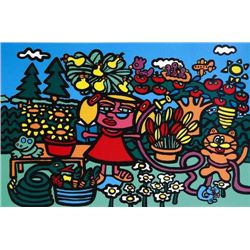 Wild and Wonderful MARCO Pop Art MOMS GARDEN Print