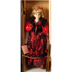 Design Debut Genevieve 24 In Porcelain Doll Blonde MIB