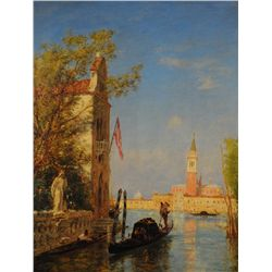 Venise sous le soleil / Ziem, F&#233;lix (1821-1911)